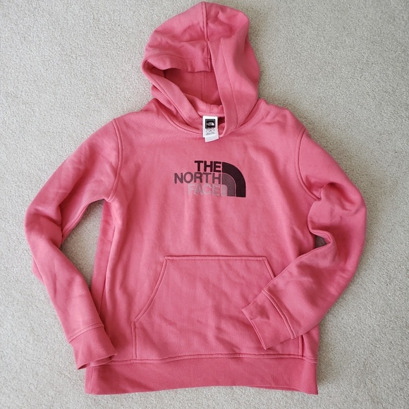 4599b2222 NWOT North Face Girls Sweatshirt Hoodie Size Large